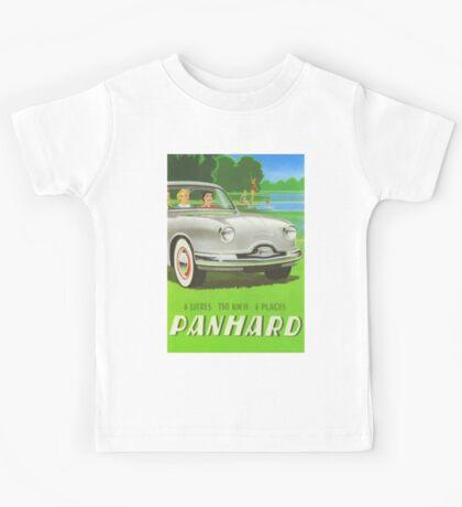 Fifties classic car Panhard from France  Kids Tee