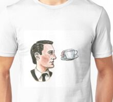 Dale Cooper And The Flying Cup Of Coffee Unisex T-Shirt