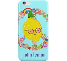 John Lemon iPhone Case/Skin