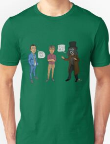 Only Fools & Horses / League of Gentlemen Mashup! Rodney, Trigger & Papa Lazarou Unisex T-Shirt