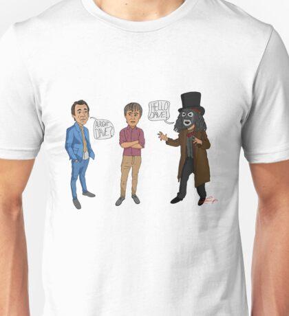 Only Fools & Horses / League of Gentlemen Mashup! Rodney, Trigger & Papa Lazarou Unisex T-Shirt