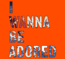 I Wanna Be Adored -The Stone Roses Kids Tee