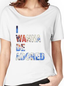 I Wanna Be Adored -The Stone Roses Women's Relaxed Fit T-Shirt