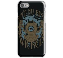 Ain't No Rest (for the Wicked) iPhone Case/Skin