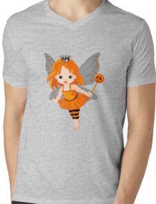 Cute cartoon fairy Mens V-Neck T-Shirt