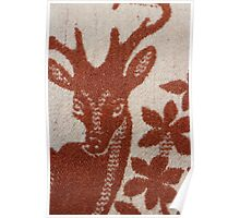 deer wool blanket Poster