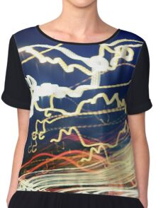 TOGETHER IN ELECTRIC DREAMS Chiffon Top