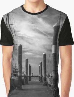 Study in Black and White.. Marina Perspective Graphic T-Shirt