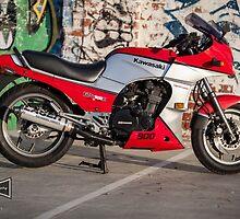 Kawasaki GPZ900R by Ricky Pfeiffer