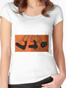 The Tire Swing 2011 Women's Fitted Scoop T-Shirt