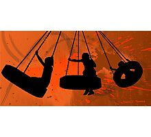 The Tire Swing 2011 Photographic Print