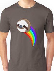 Rainbow Sloth Unisex T-Shirt