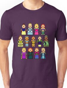 8-Bit Princesses Unisex T-Shirt