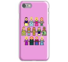 8-Bit Princesses iPhone Case/Skin