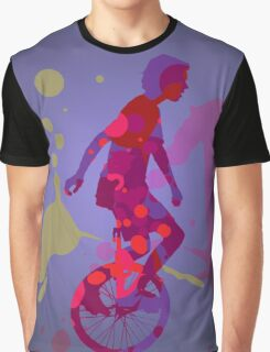 The Unicyclist Graphic T-Shirt