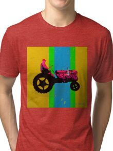 The Tractor Tri-blend T-Shirt
