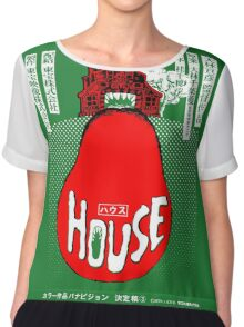 House Poster Tee (1977 Japanese film) Chiffon Top