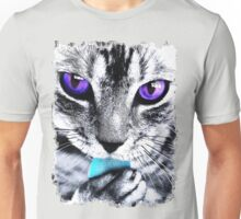 Purple eyes Cat Unisex T-Shirt