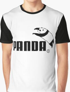 Panda Jump Parody Graphic T-Shirt