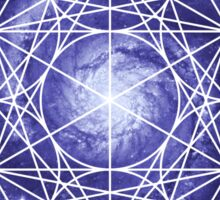 Pinwheel Blue Hue | Metatron Sacred Geometry Sticker Sticker
