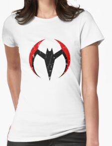 Batman Beyond - Batarang Distressed Womens Fitted T-Shirt