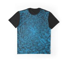 Blue colorful Graphic T-Shirt