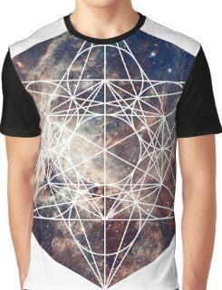 Star Clouds | Metatron Sacred Geometry Sticker Graphic T-Shirt