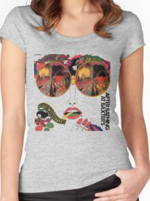 Psychedelic Art - Sixties - Jefferson Airplane Women's Fitted Scoop T-Shirt