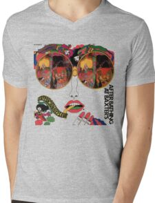 Psychedelic Art - Sixties - Jefferson Airplane Mens V-Neck T-Shirt