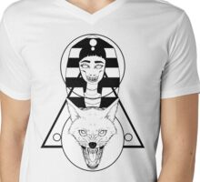 Jackal Mens V-Neck T-Shirt
