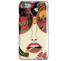 Psychedelic Art - Sixties - Jefferson Airplane iPhone Case/Skin
