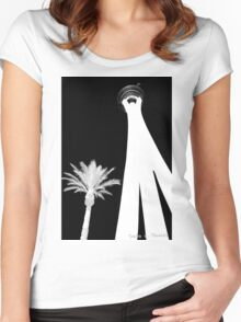 Vegas Tower 2015 Women's Fitted Scoop T-Shirt