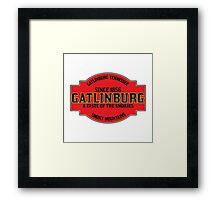 GATLINBURG TENNESSEE GREAT SMOKY MOUNTAINS NATIONAL PARK SMOKIES Framed Print