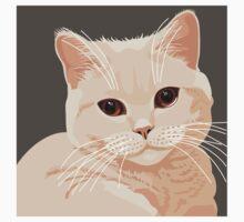 Staring cat Baby Tee