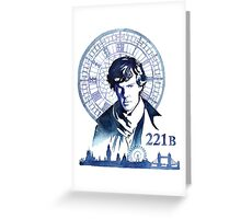 Sherlock- 221B Greeting Card