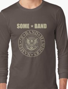 Some Band Parody  Long Sleeve T-Shirt