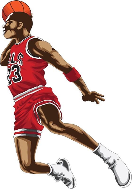 Quot Michael Jordan Quot Stickers By Dancas Redbubble