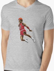 Michael Jordan Mens V-Neck T-Shirt
