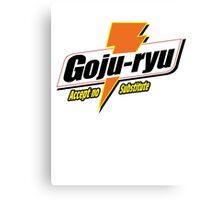 Goju Ryu Canvas Print