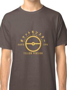 Pokemon Yellow Version Classic T-Shirt