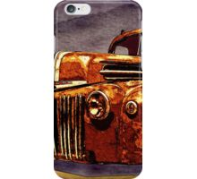 46 Ford Flatbed Redux from the Laboratories at VivaChas! iPhone Case/Skin
