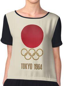 Japan Retro Tokyo Olympics 1964 Chiffon Top
