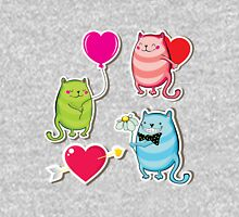 Cartoon cat valentine illustrator Unisex T-Shirt