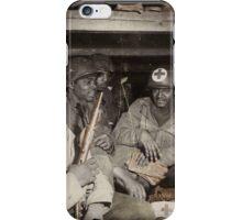 African American Medics WWII iPhone Case/Skin