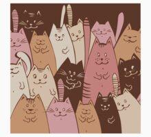 Different funny cat design Kids Tee