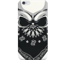 Gangsta Skull iPhone Case/Skin