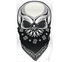 Gangsta Skull Poster