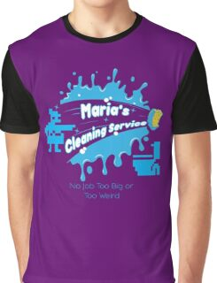 Maria's Cleaning Services Graphic T-Shirt