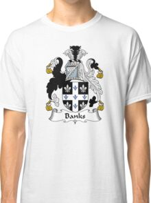 Banks Coat of Arms / Banks Family Crest Classic T-Shirt