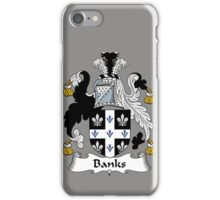 Banks Coat of Arms / Banks Family Crest iPhone Case/Skin
